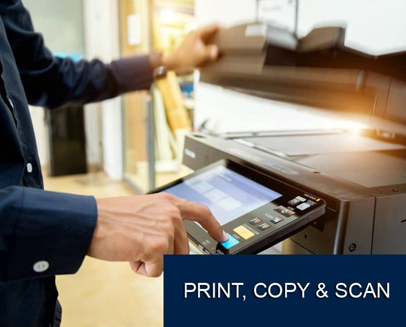 Print, Copy & Scan